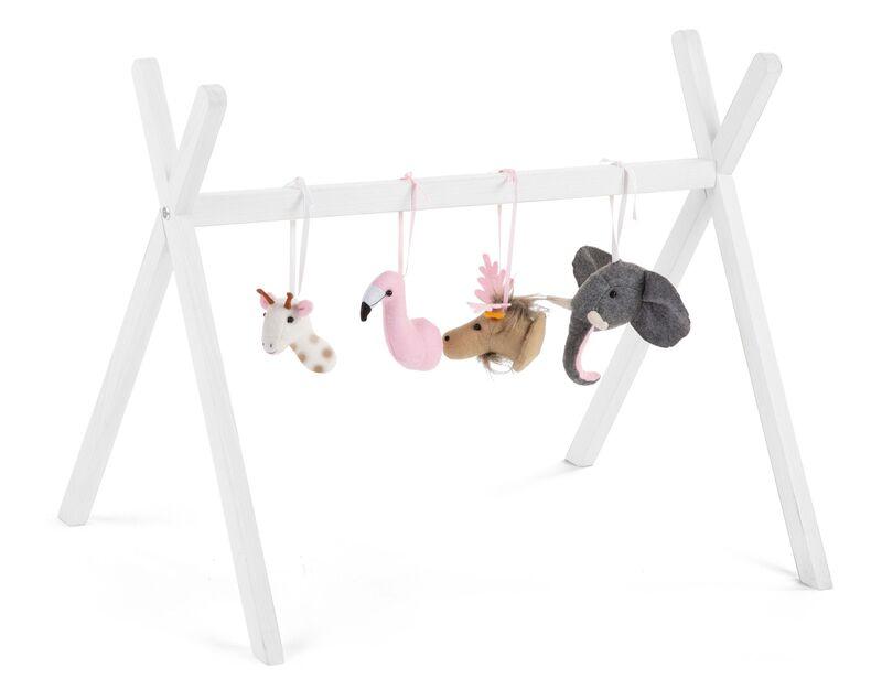 Gymtoys animaux feutre pour arche de jeux Childhome Arche