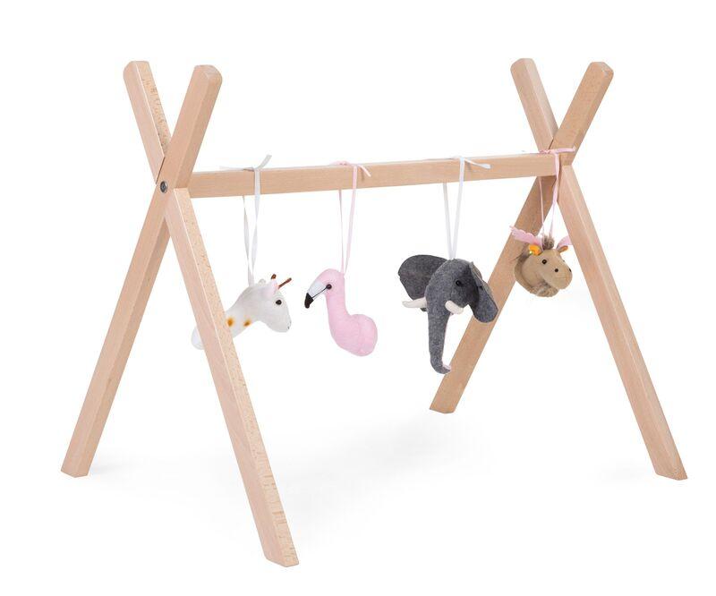 Gymtoys animaux feutre pour arche de jeux Childhome Eveil