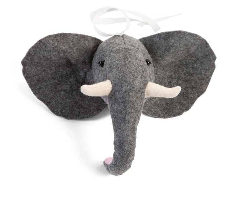 Gymtoys animaux feutre pour arche de jeux Childhome Elephant