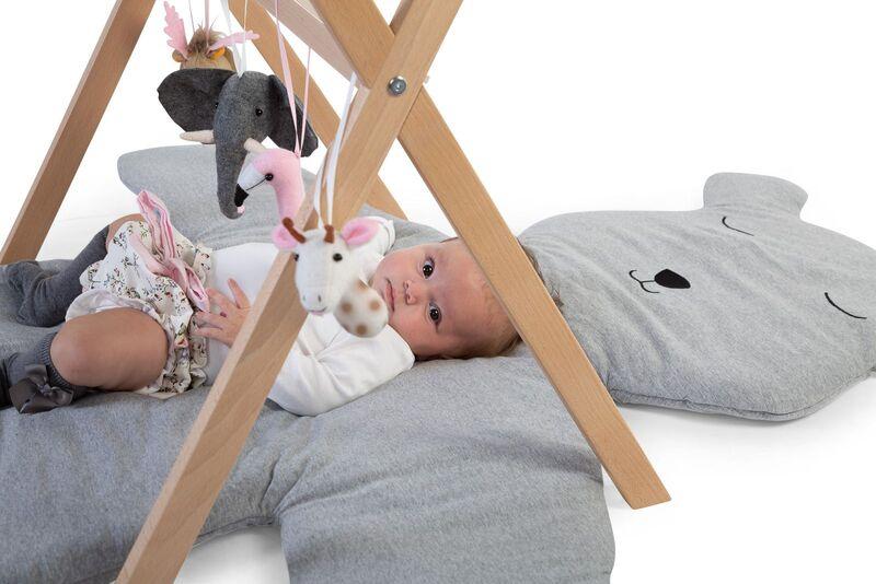 Gymtoys animaux feutre pour arche de jeux Childhome Bébé