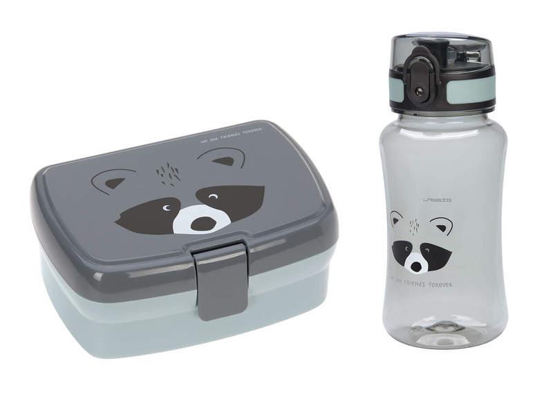Set boîte à goûter et gourde About Friends Raton laveur Lassig produit