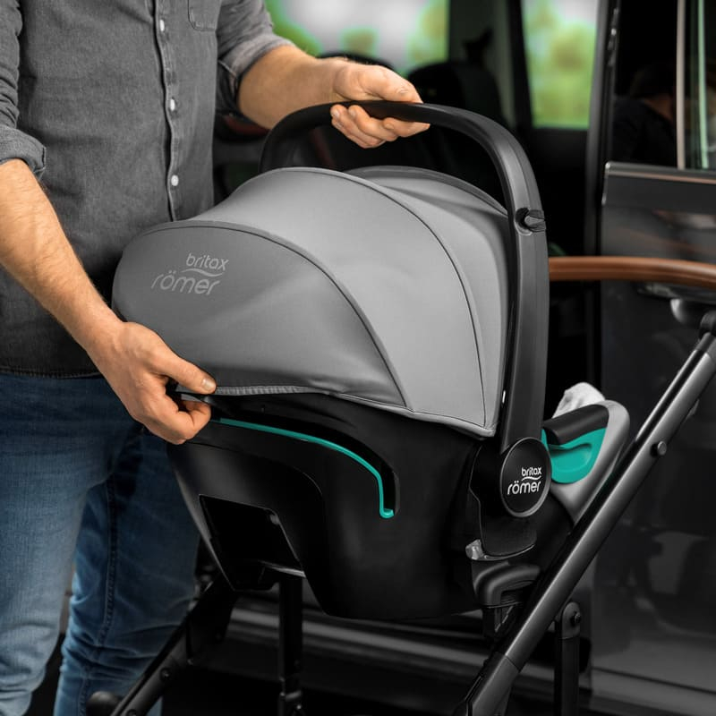 Siège-auto Baby-Safe 3 i-Size groupe 0+ avec base isofix Flex iSense Britax Romer Canopy