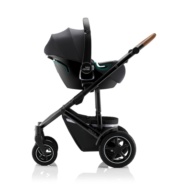Siège-auto Baby-Safe iSense groupe 0+ Britax Romer Poussette