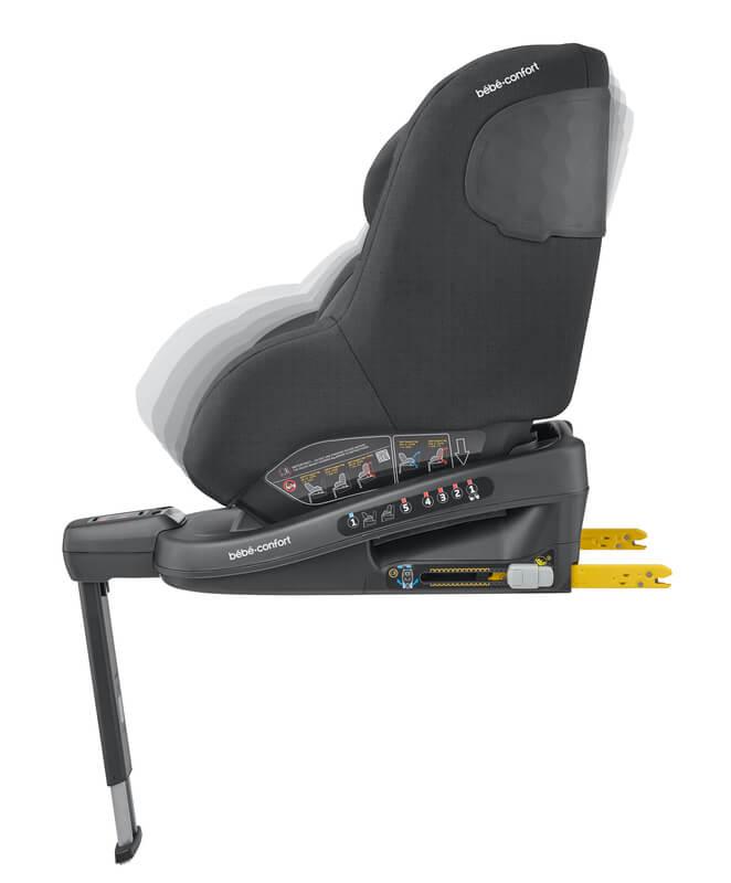 Siège-auto Beryl i-Size groupe 0/1/2 Authentic Black Bébé Confort Inclinaison