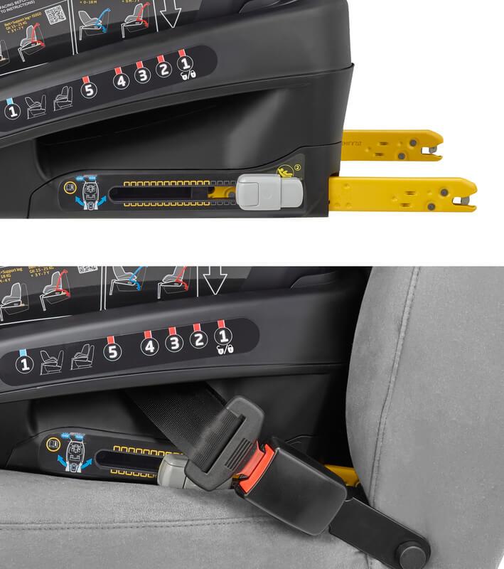 Siège-auto Beryl i-Size groupe 0/1/2 Authentic Black Bébé Confort Isofix