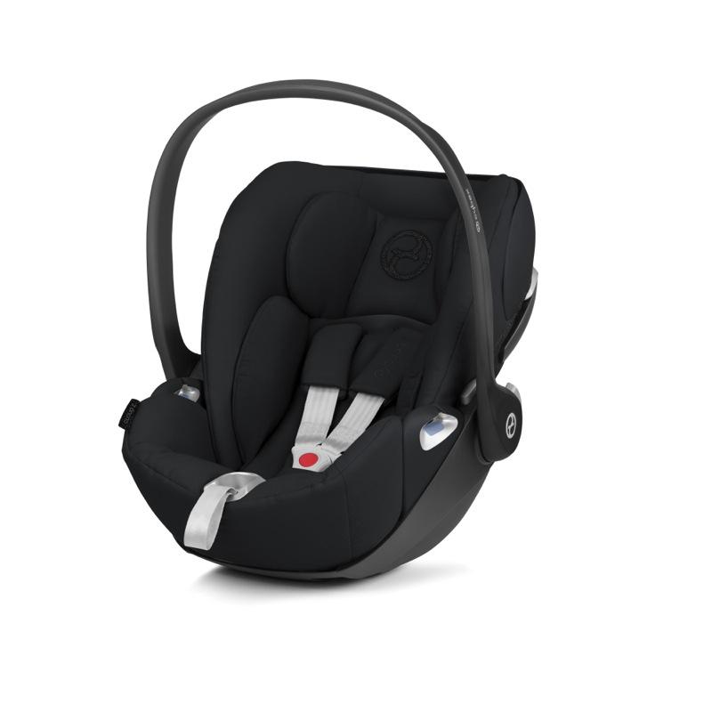 Pack poussette Melio Carbon Deep Black + siège-auto Cloud Z i-Size Cybex Coque