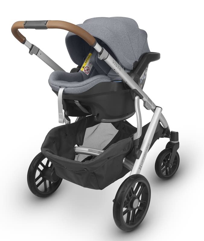 Siège-auto Mesa i-Size groupe 0+ Uppababy Poussette