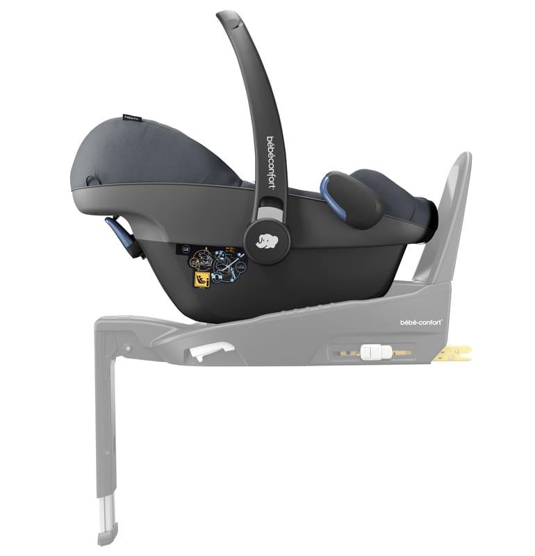 Pack poussette Lara 2 et siège-auto Pebble Pro groupe 0+ Bébé Confort Mousse à Base