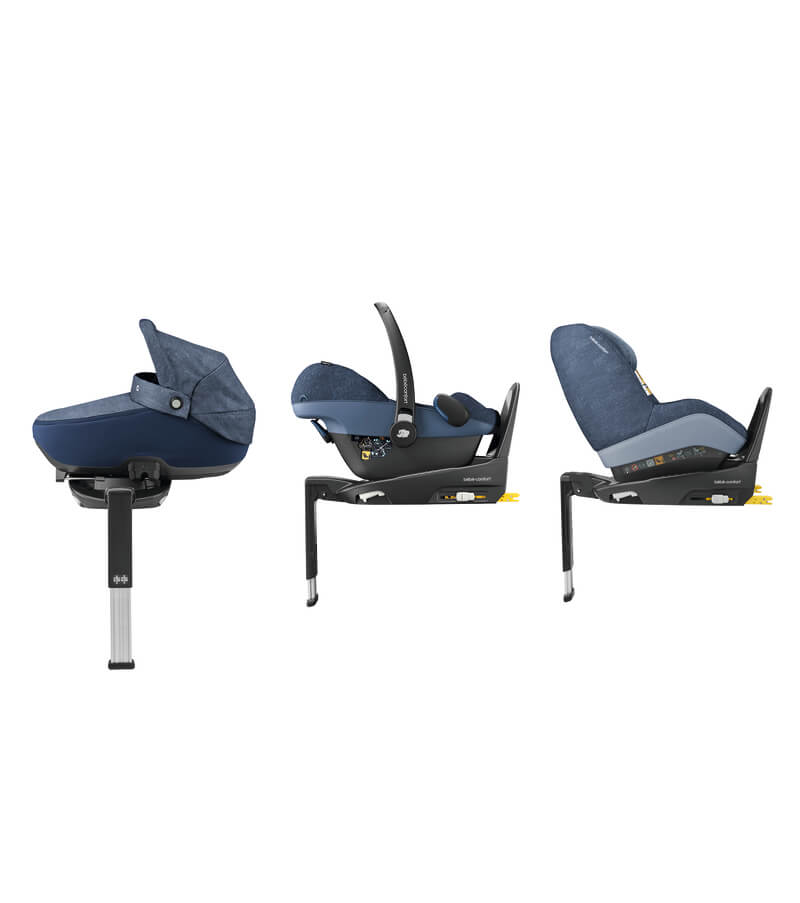 Set siège-auto Pebble Pro i-Size 0+ et base 3wayFix i-Size Bébé Confort 5