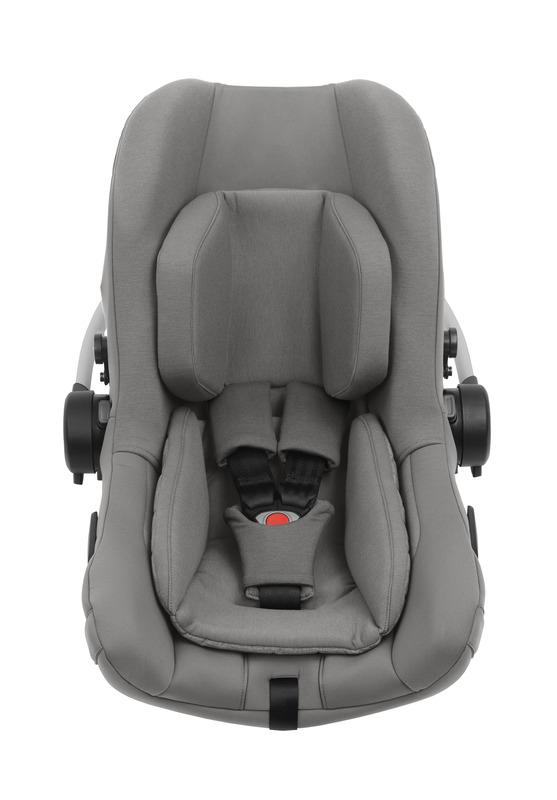 Pack siège-auto Pipa Next groupe 0+ et base isofix Nuna Intérieur