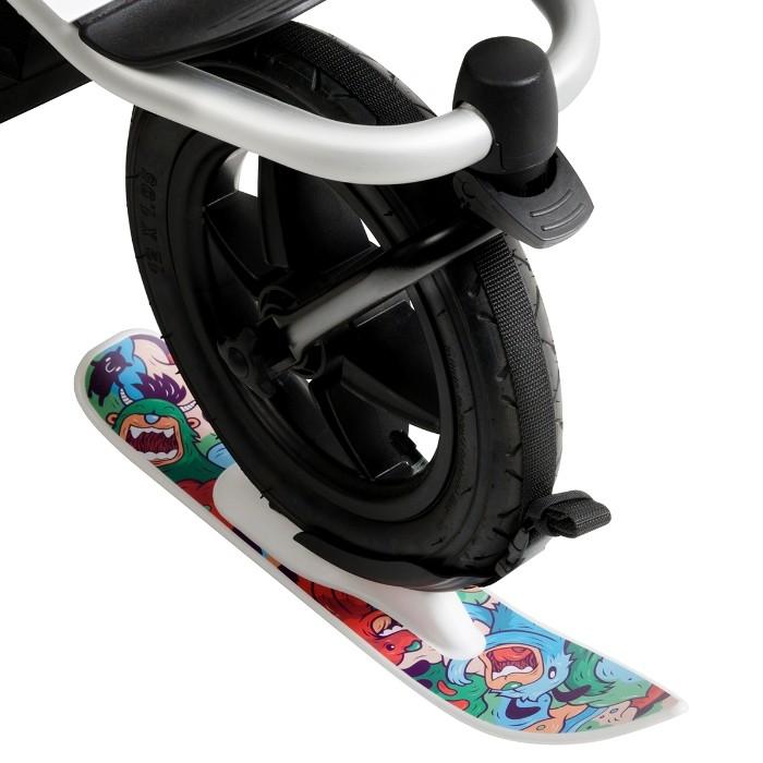 Ski pour roues de poussette Moutain Buggy motif 1 sur roue