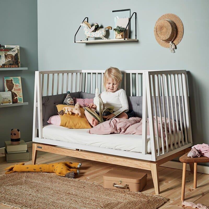 Surmatelas bébé lits Linea et Luna Leander Ambiance