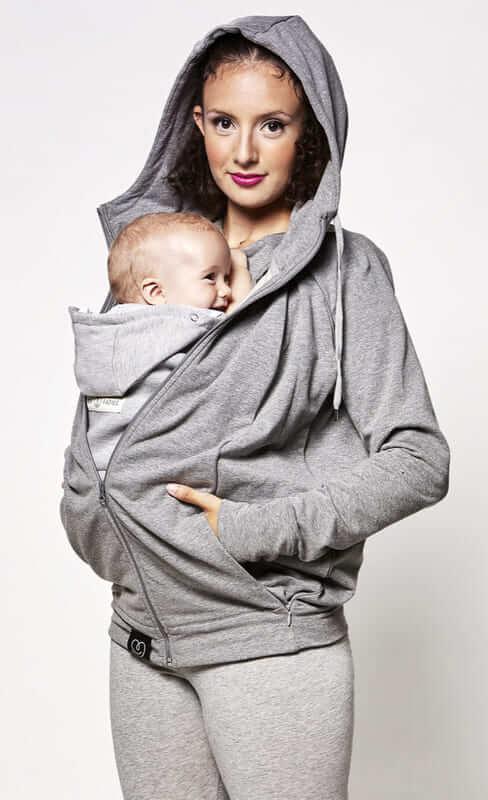 Sweat du parent Gris Chiné Love Radius Produit