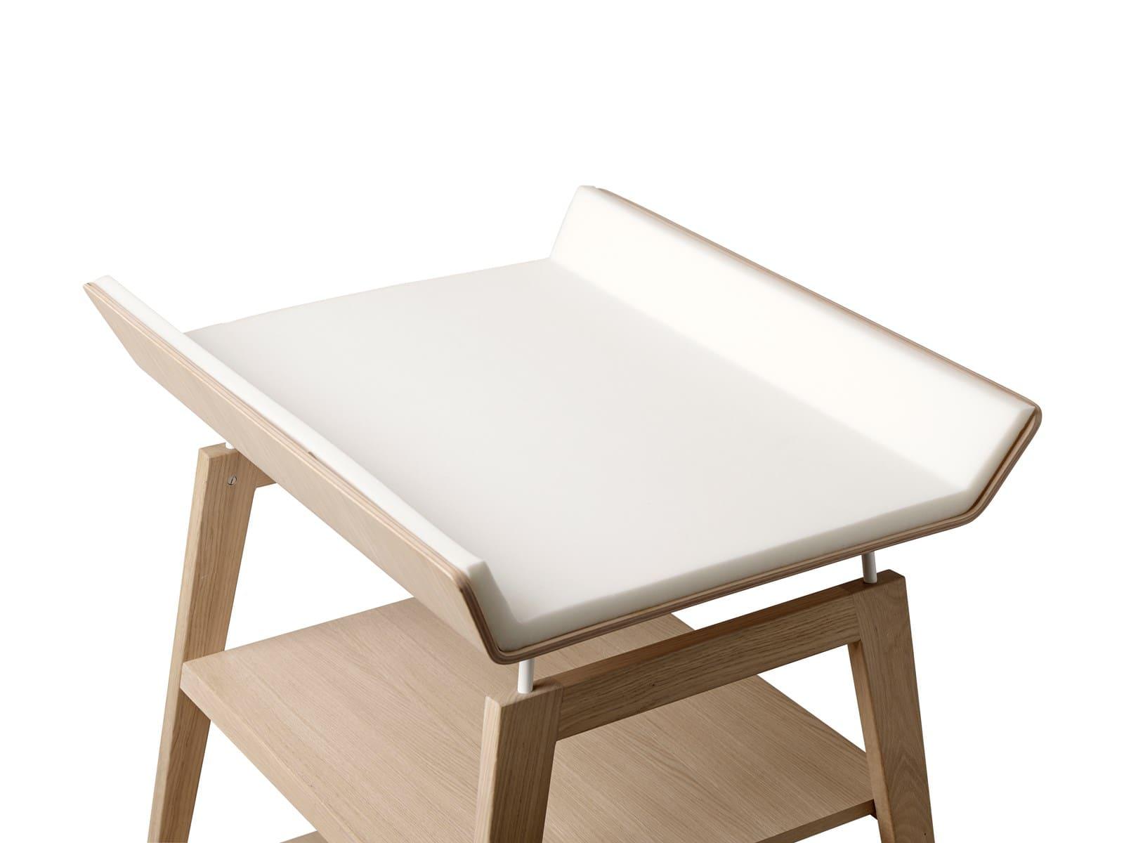 Table à langer avec matelas Linea bois de chêne Leander 3