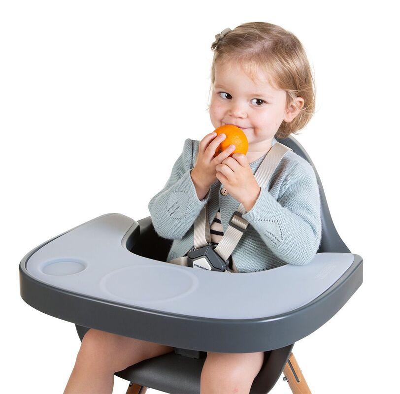 Tablette pour chaise haute Evolu avec napperon Childhome Ambiance