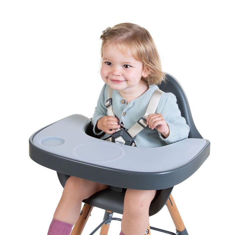 Tablette pour chaise haute Evolu avec napperon Childhome Enfant