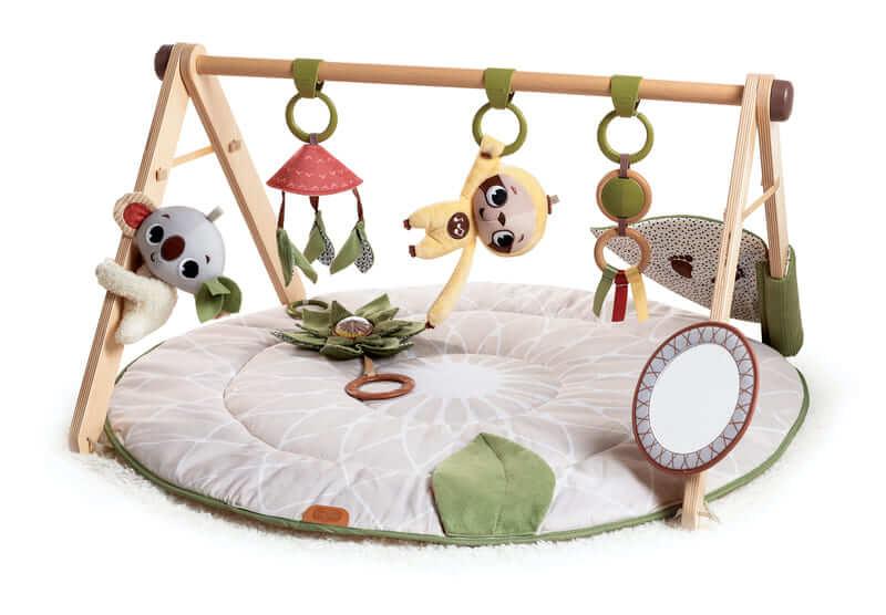 Tapis d'éveil ultra confort et arche en bois Boho Chic Tiny Love Produit