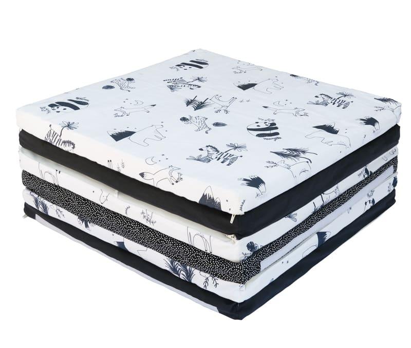 Tapis de motricité Black & White experience XL Candide Plié