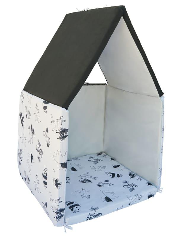 Tapis de motricité Black & White experience XL Candide Maison