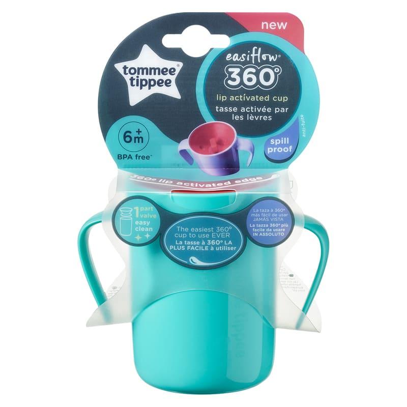 Tasse Easiflow 360° avec anse 200 ml 6m+ Tommee Tippee Packaging