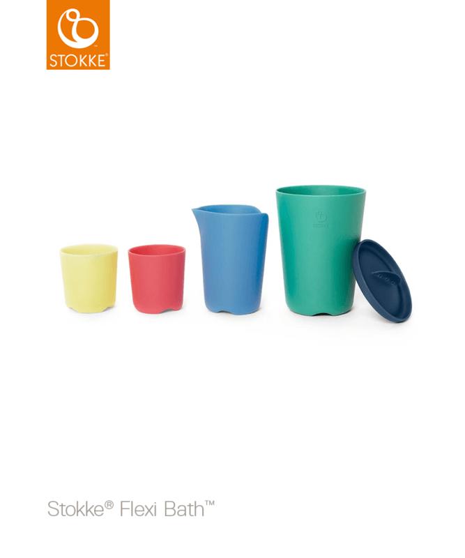 Tasses jouet Multicouleur Flexi Bath Stokke 1