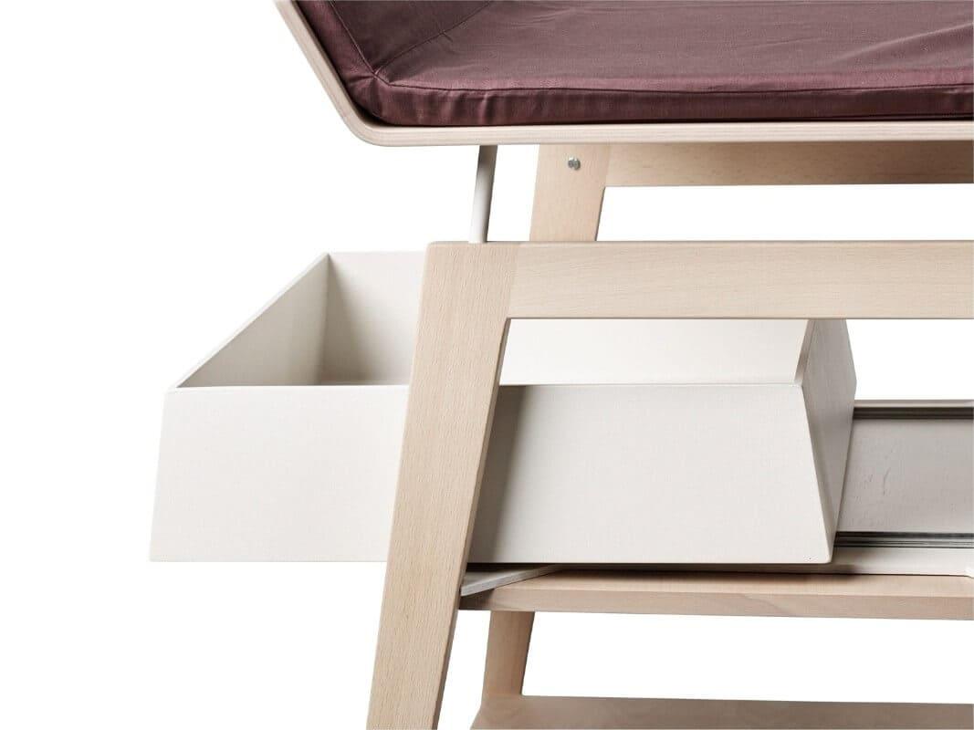 Table à langer avec matelas Linea bois de chêne Leander 5