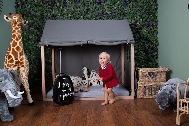 Toile pour lit Cabane 70 x 140 cm Childhome Ambiance