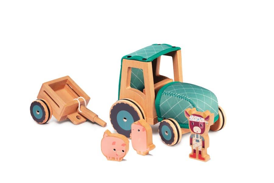 Tracteur Rosalie Lilliputiens Remorque détachée