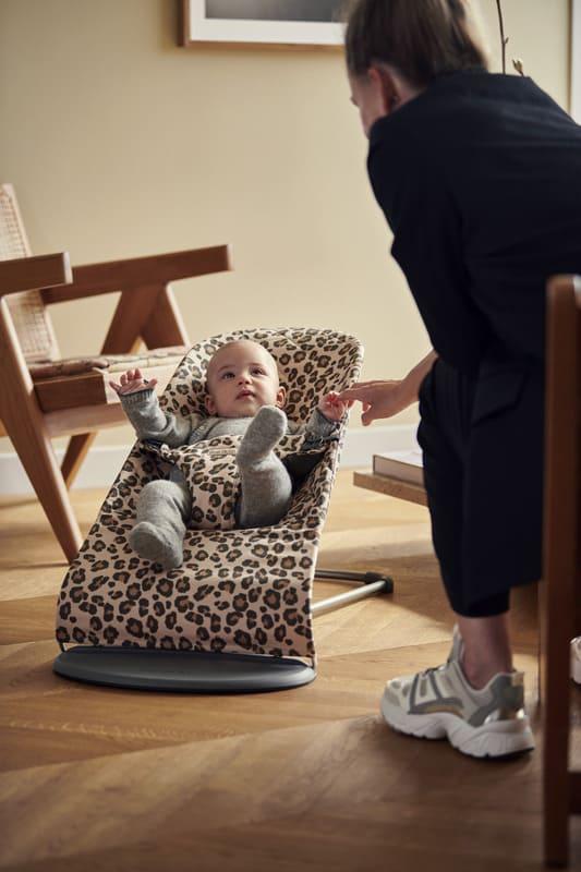 Transat Bliss Coton Léopard Babybjorn Famille