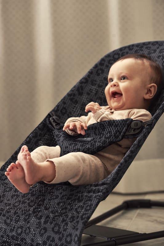 Transat Bliss Mesh Léopard Babybjorn Bébé