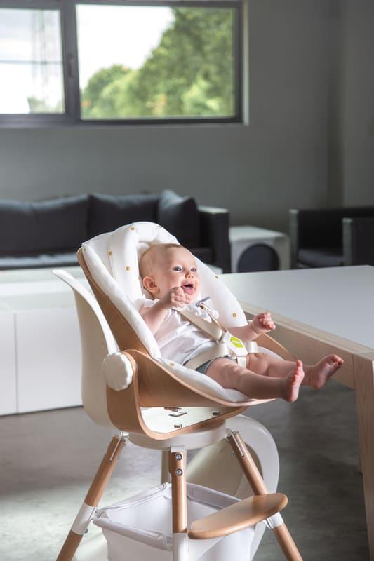 Transat pour chaise haute Evolu Newborn Seat Childhome 5