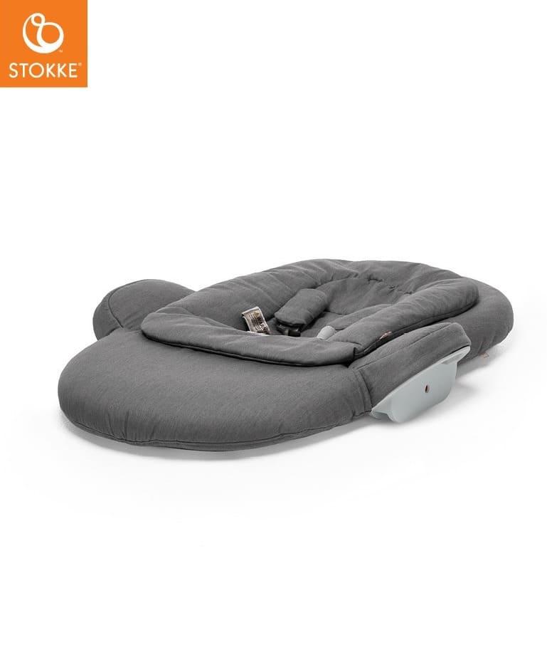 Transat Newborn Set chaise haute Steps Deep Grey Stokke Détail