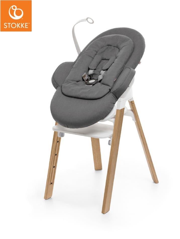 Transat Newborn Set chaise haute Steps Deep Grey Stokke Produit