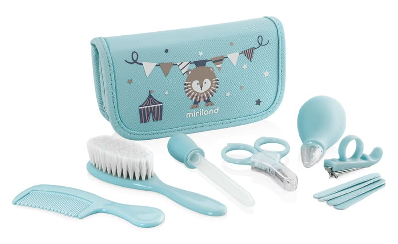 Trousse de soin baby kit bleu Miniland 1