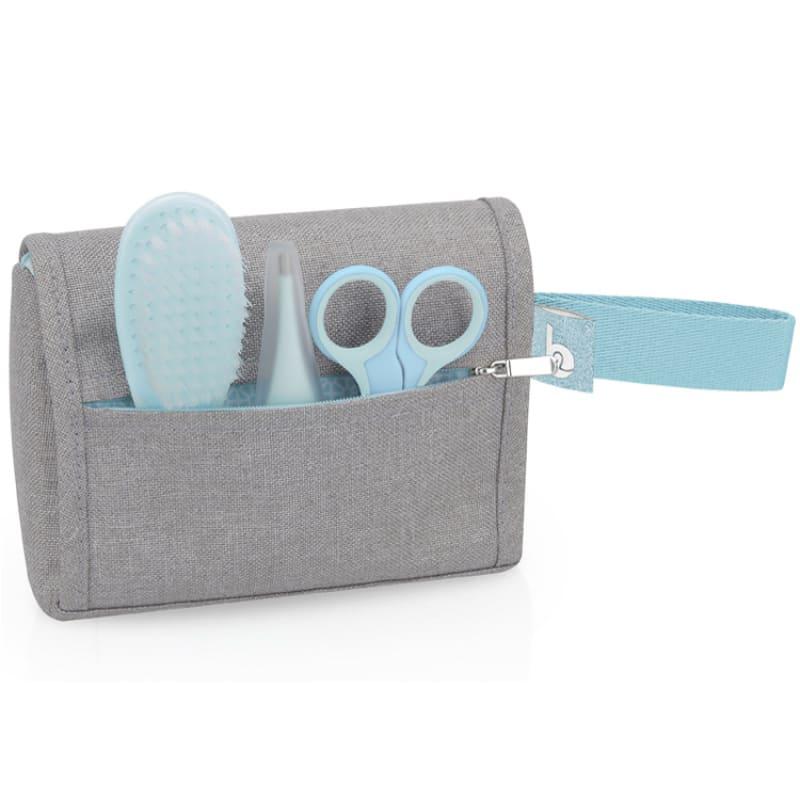 Trousse de soin compacte Bleu/Gris Babymoov Poche