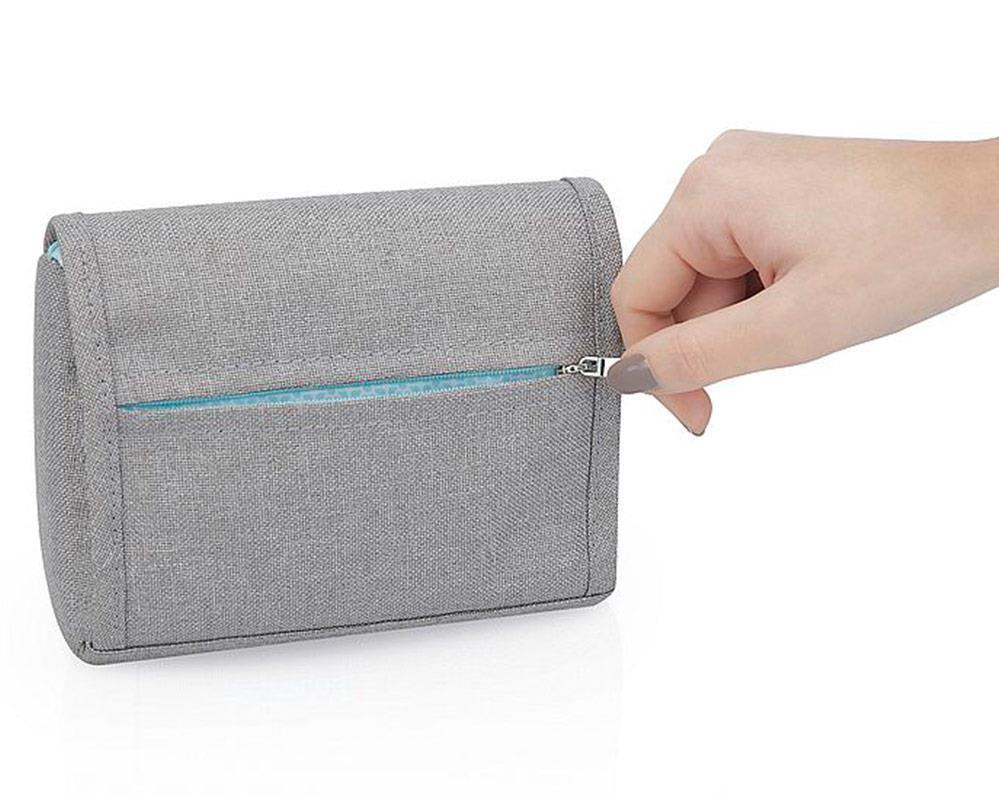 Trousse de soin compacte Bleu/Gris Babymoov Zip