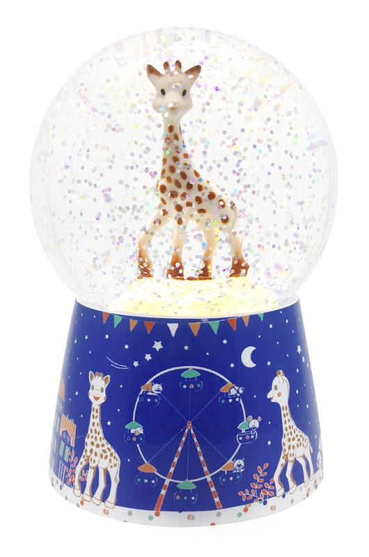 Veilleuse boule à neige musicale Sophie La Girafe Trousselier Produit