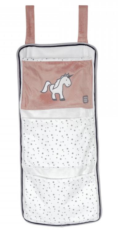 Vide poches de lit en velours Ophélia la Licorne Trois Kilos SEpt Produit