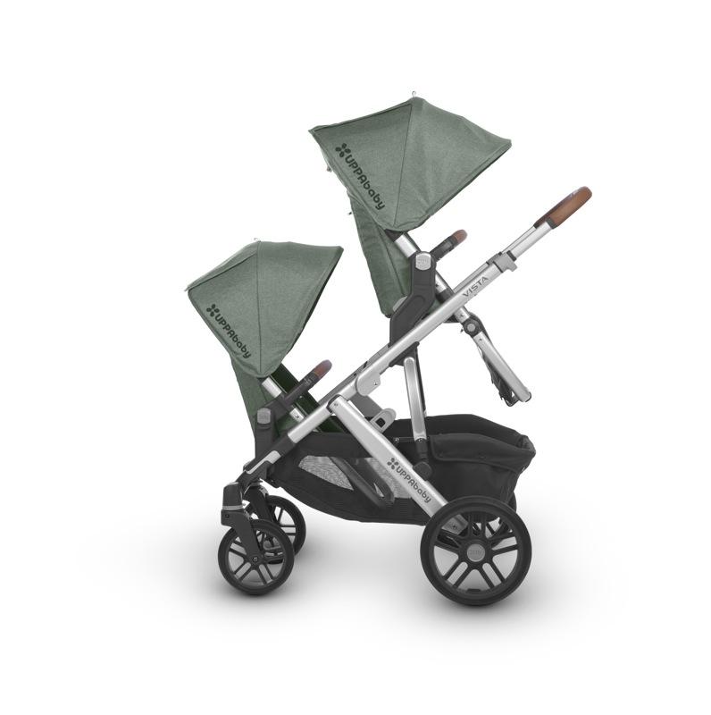 Poussette Vista 2018 avec nacelle 1 ou 2 enfants Emmet 2 sièges parents Uppababy Bambinou