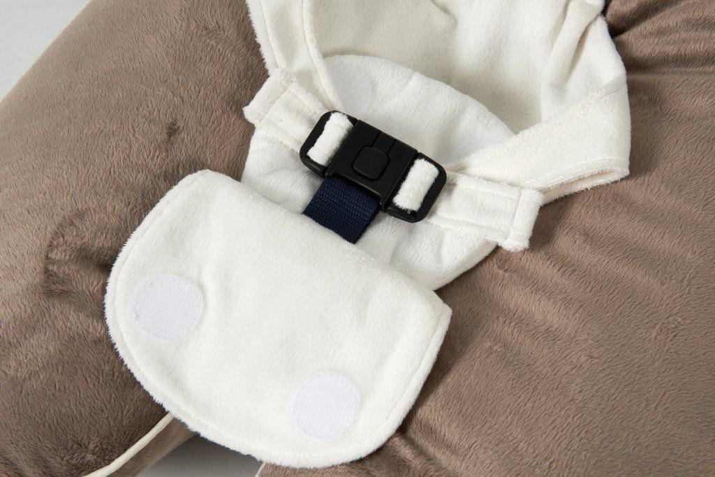 Multirelax bébé Soft boa Gris clair/écru Candide zoom sur la culotte