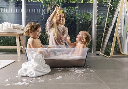 L'heure du bain en toute sérénité pour votre bébé et vous !